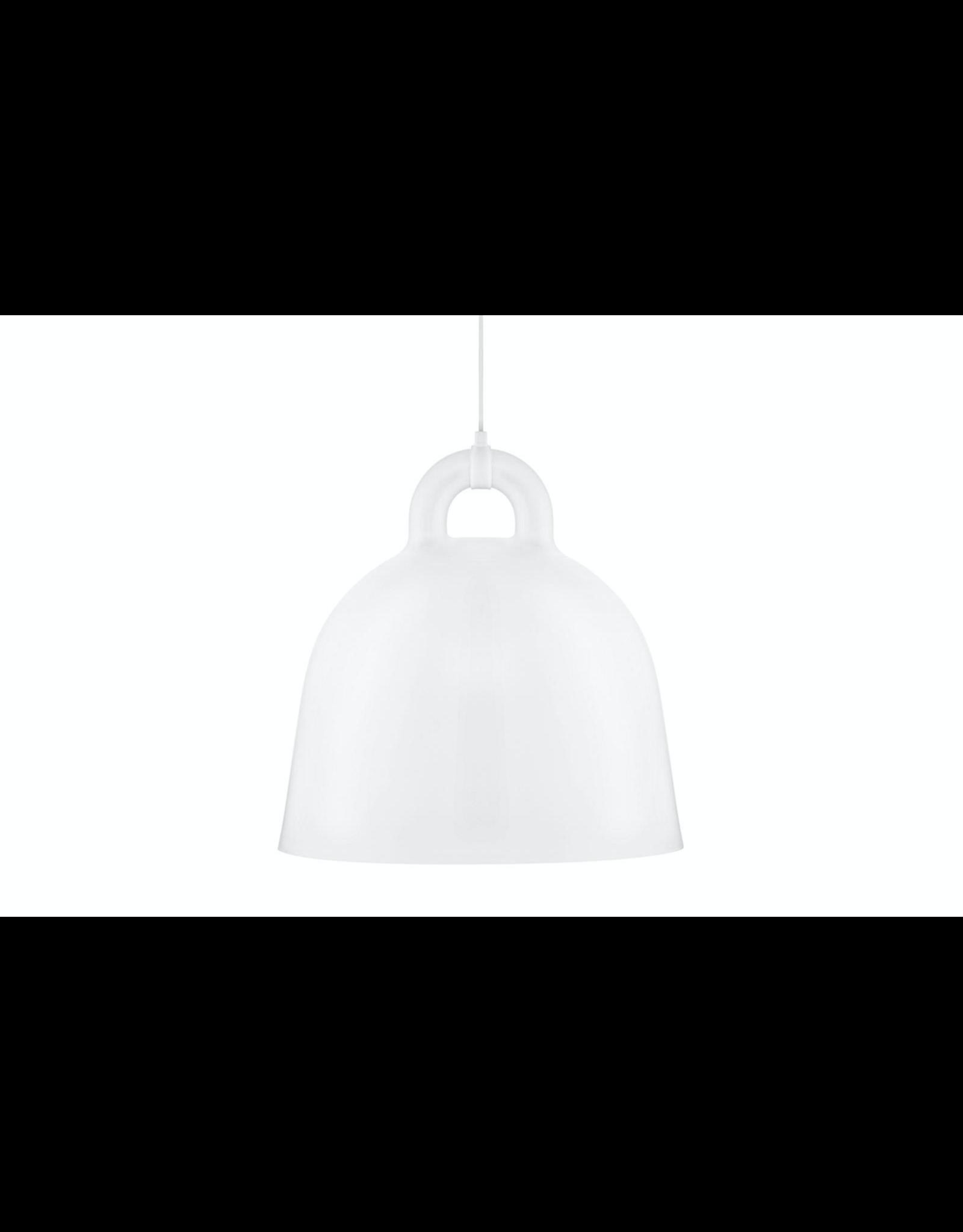 Bell Lamp Large White D55cm