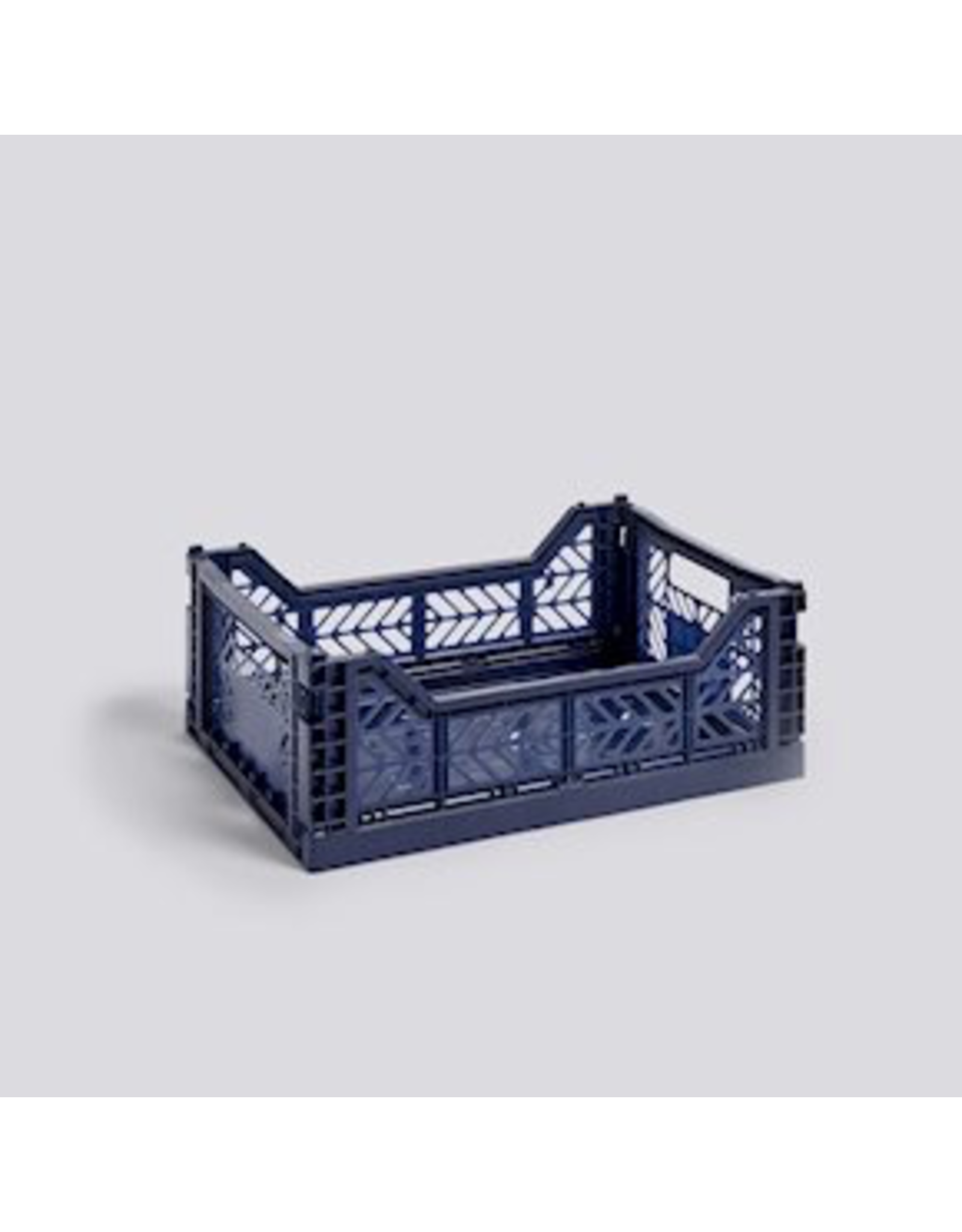 HAY COLOUR CRATE / M NAVY