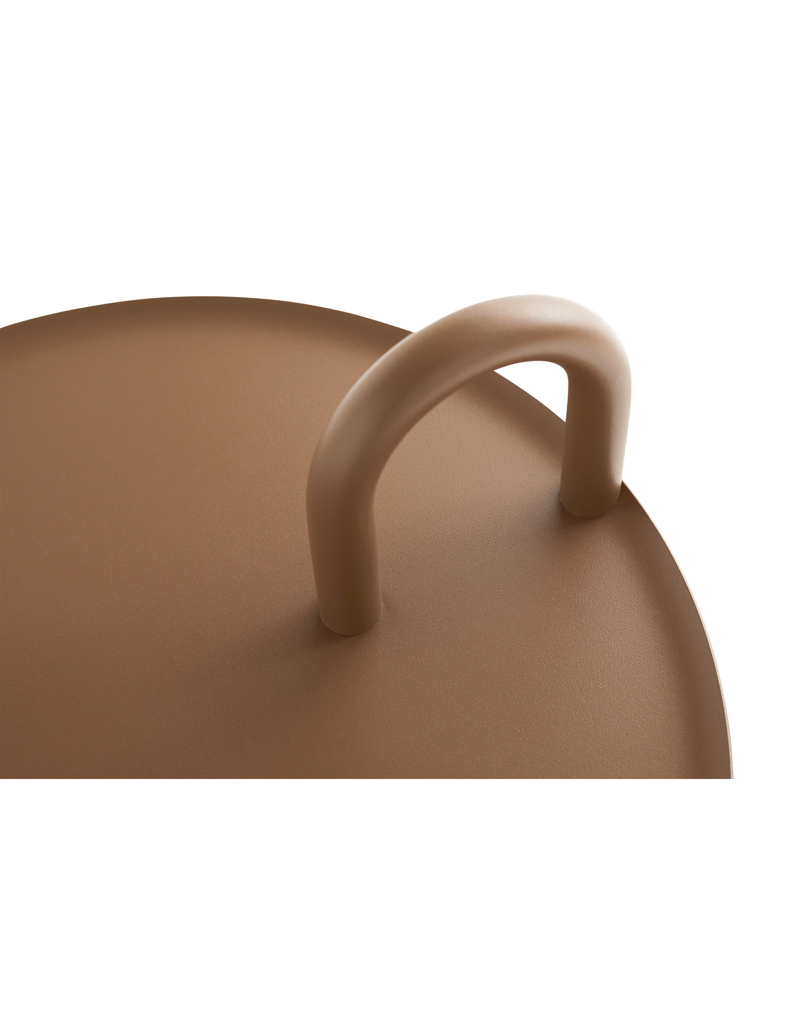 HAY Bowler / Side Table Pale Brown