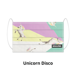 Snurk Snurk Facemask Unicorn Disco