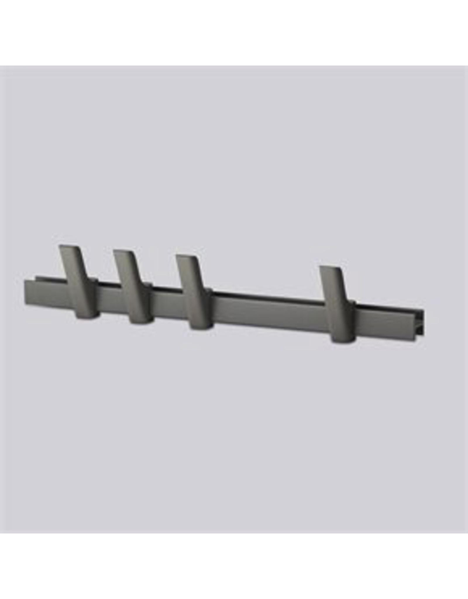 HAY HAY Beam 60cm 4 hook grey/grey