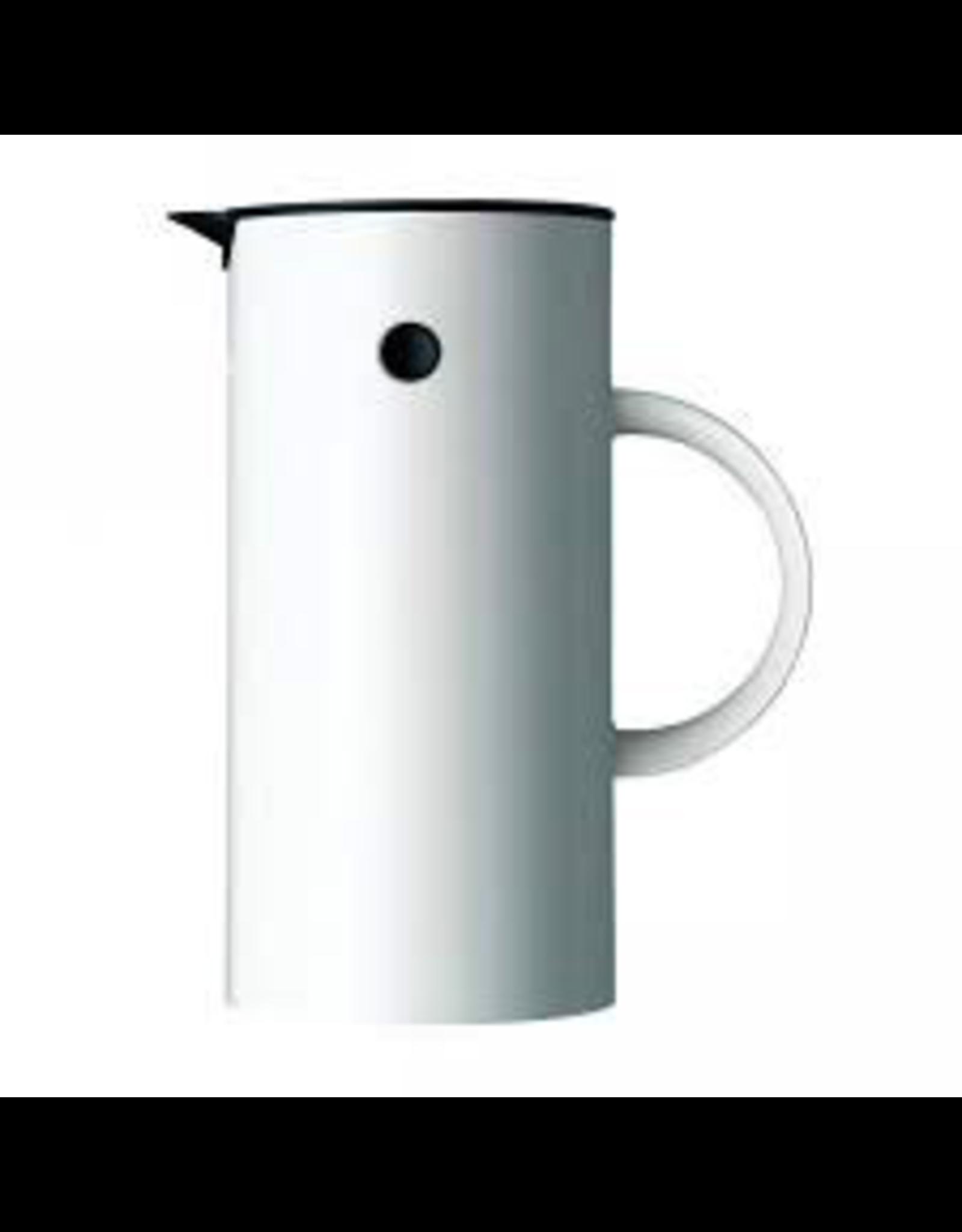 Stelton EM77, Vacuum Jug,  0,5L, White
