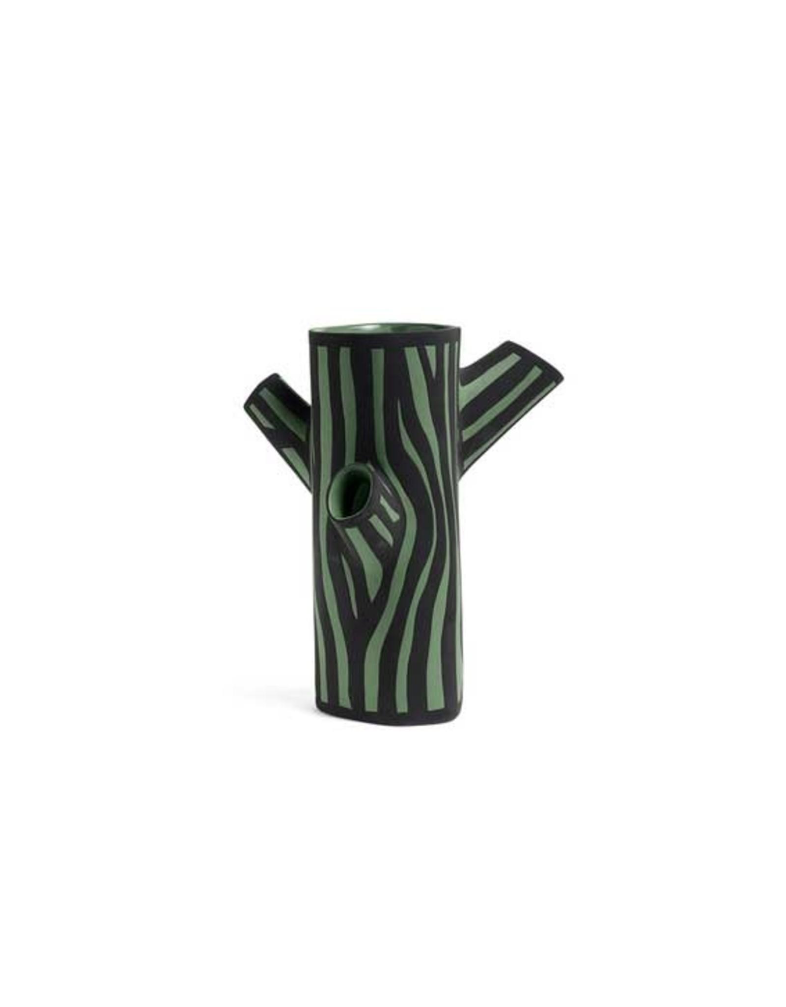 HAY Tree Trunk Vase Medium Green
