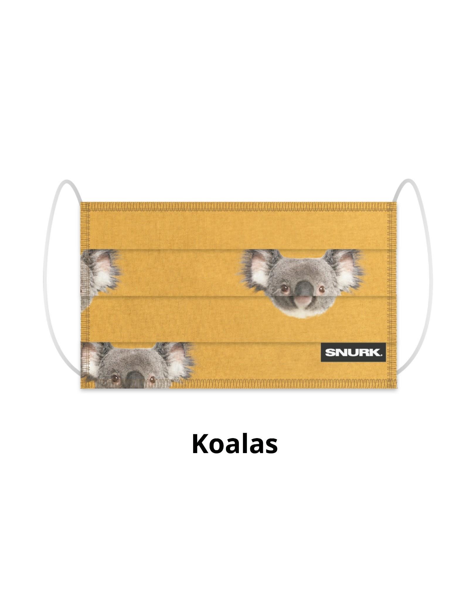 Snurk Snurk Facemask Koalas
