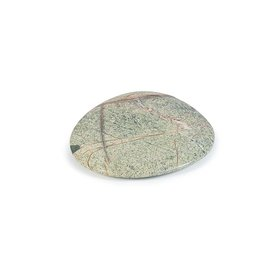Dekocandle Plate Marble Green Forest Small