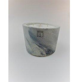 Mon Dada Urban Candle Grey S- Down to Earth