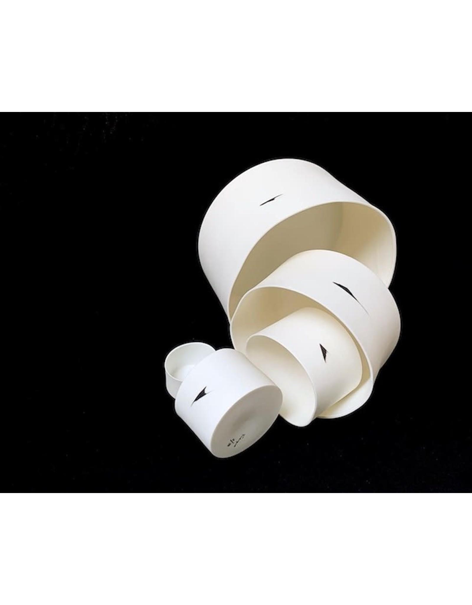 Porcelain Art Studio Clyde Windlicht Cilinder Medium