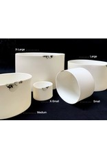 Porcelain Art Studio Bonny-Mat Windlicht Cilinder X-Small