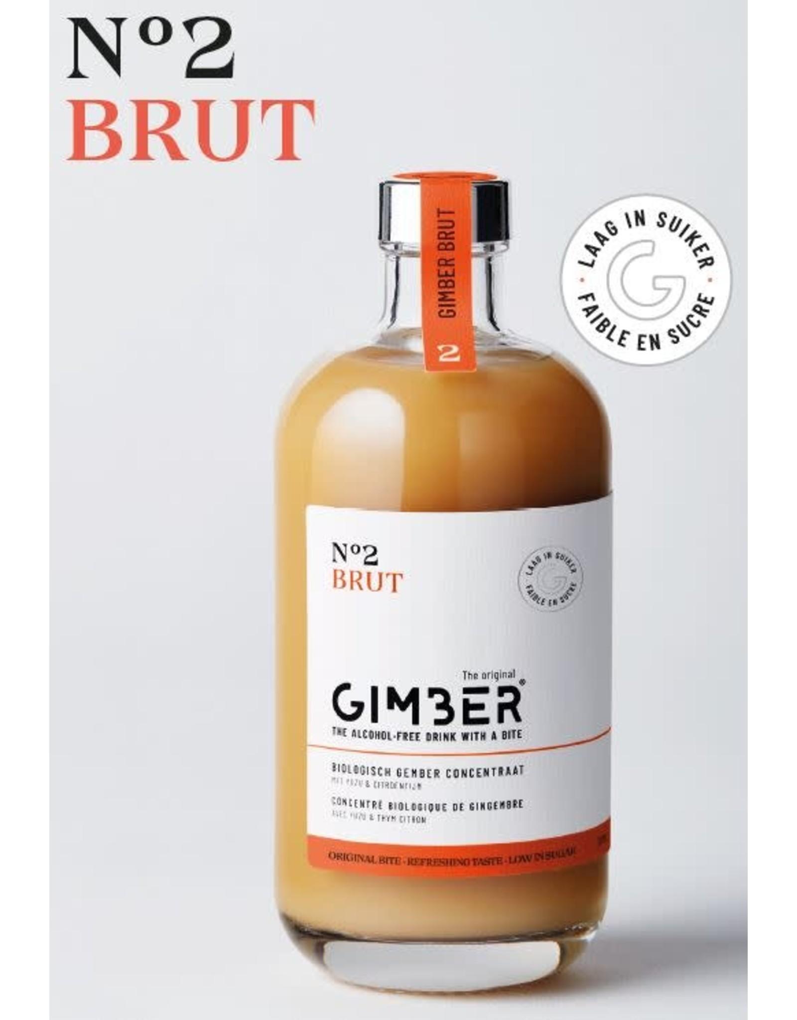GIMBER The Original Gimber n°2 Brut 500ML