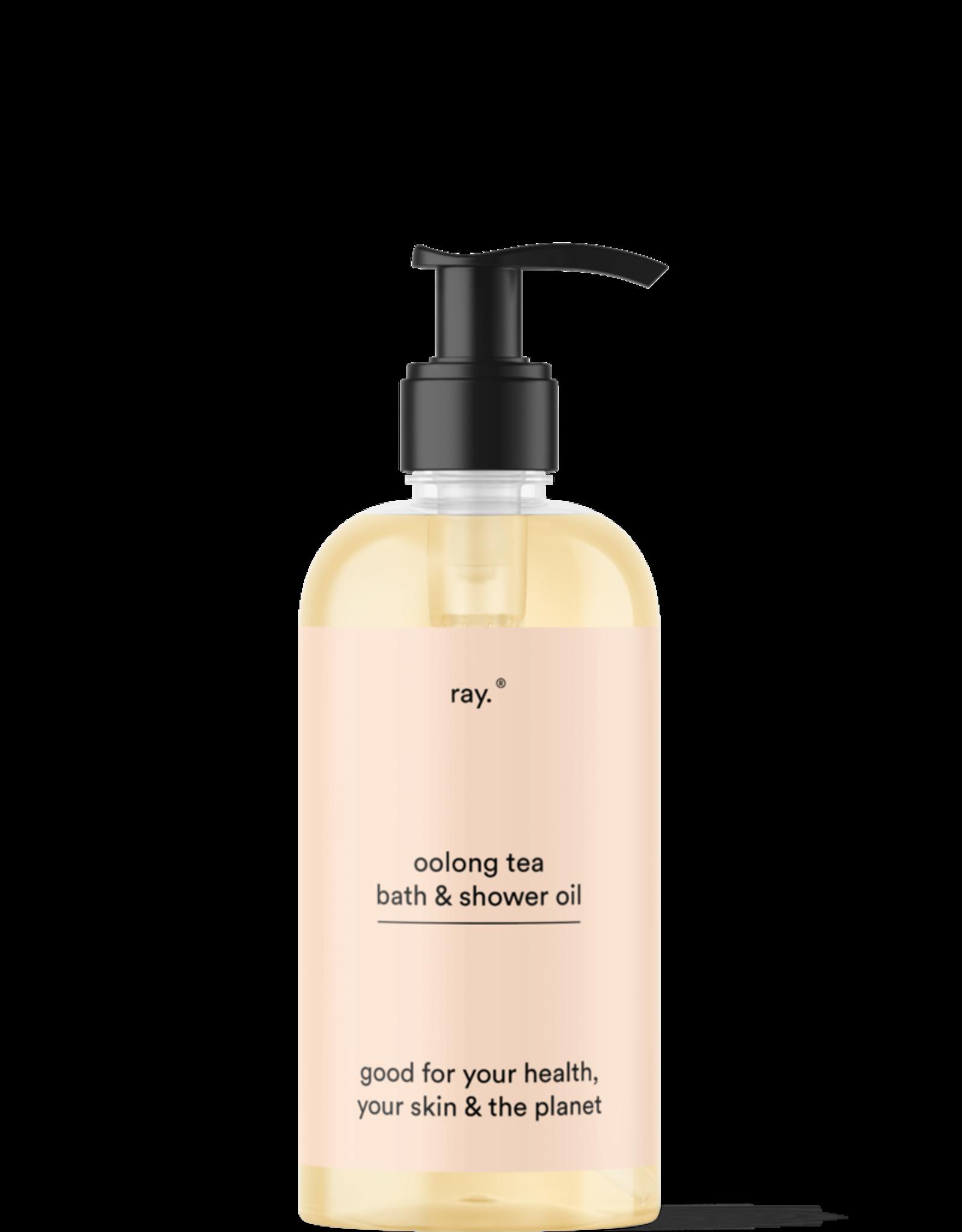 ray Ray. Bath & Shower Oil - 250ml - Oolong Tea