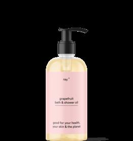 ray Bath & Shower Oil - 250ml - Grapefruit