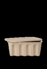 FERM LIVING Paper Pulp Box Large - Set of 2 - Bro