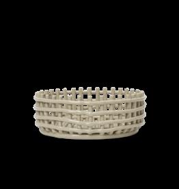 FERM LIVING Ceramic Centrepiece - Cashmere