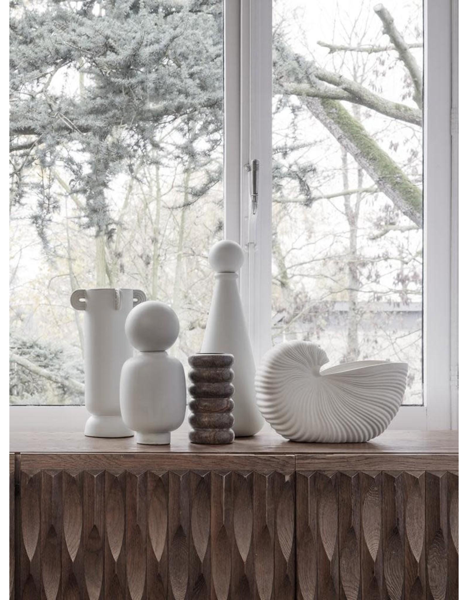 FERM LIVING Shell Pot - Off-White
