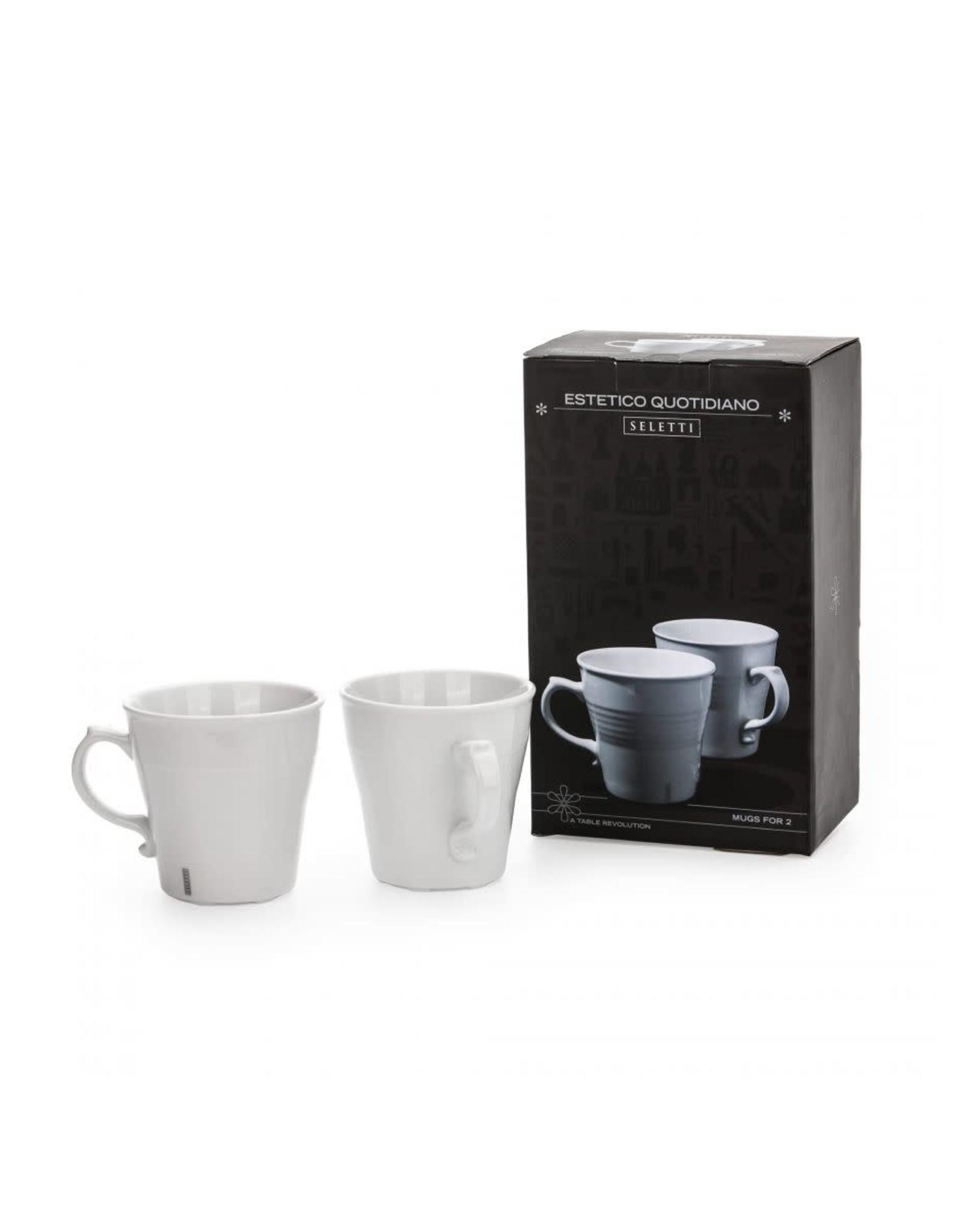 Seletti Estetico Quotidiano Set of 2 Mugs