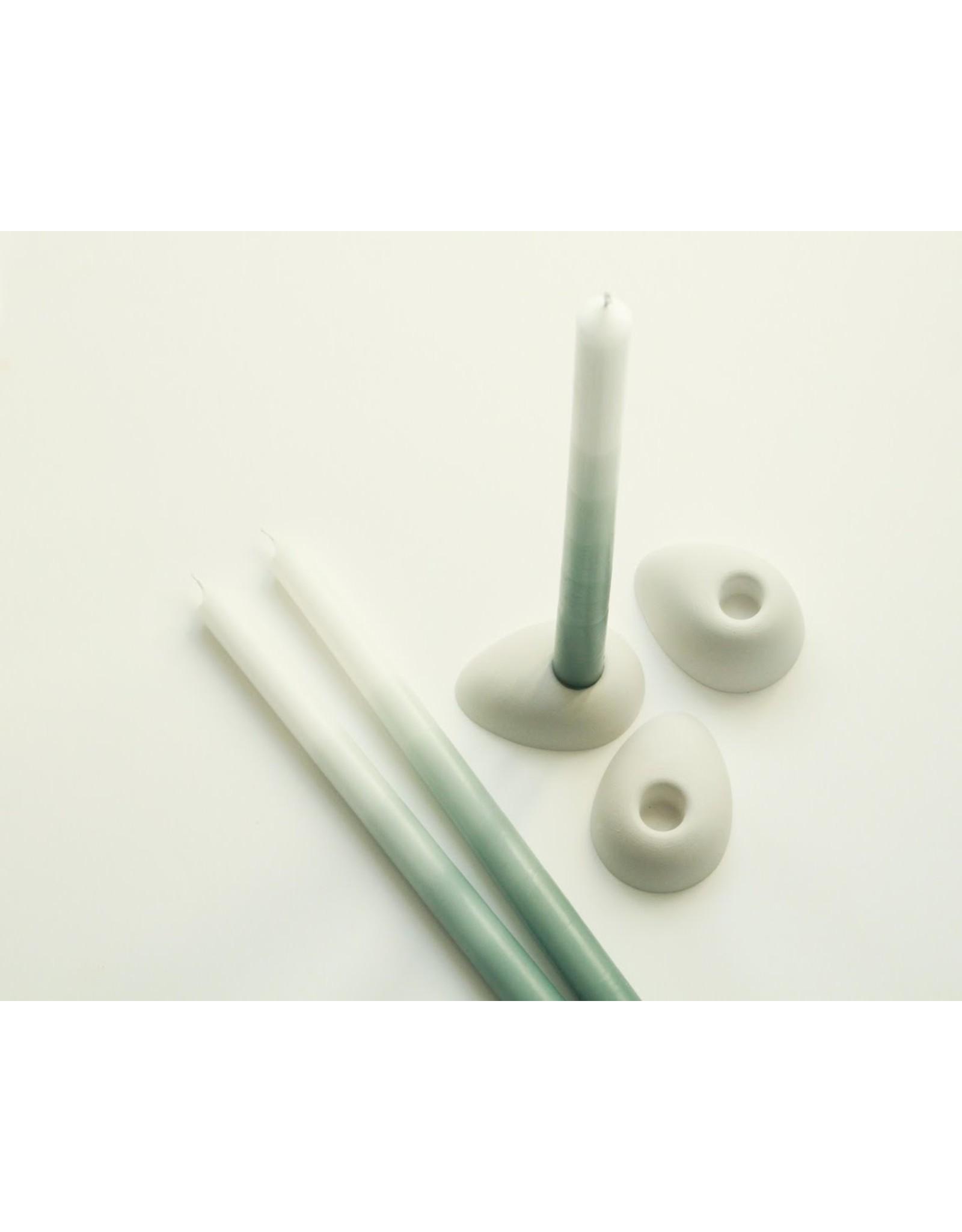 Mo Man Tai Gradient Candle (per piece) Jade Green