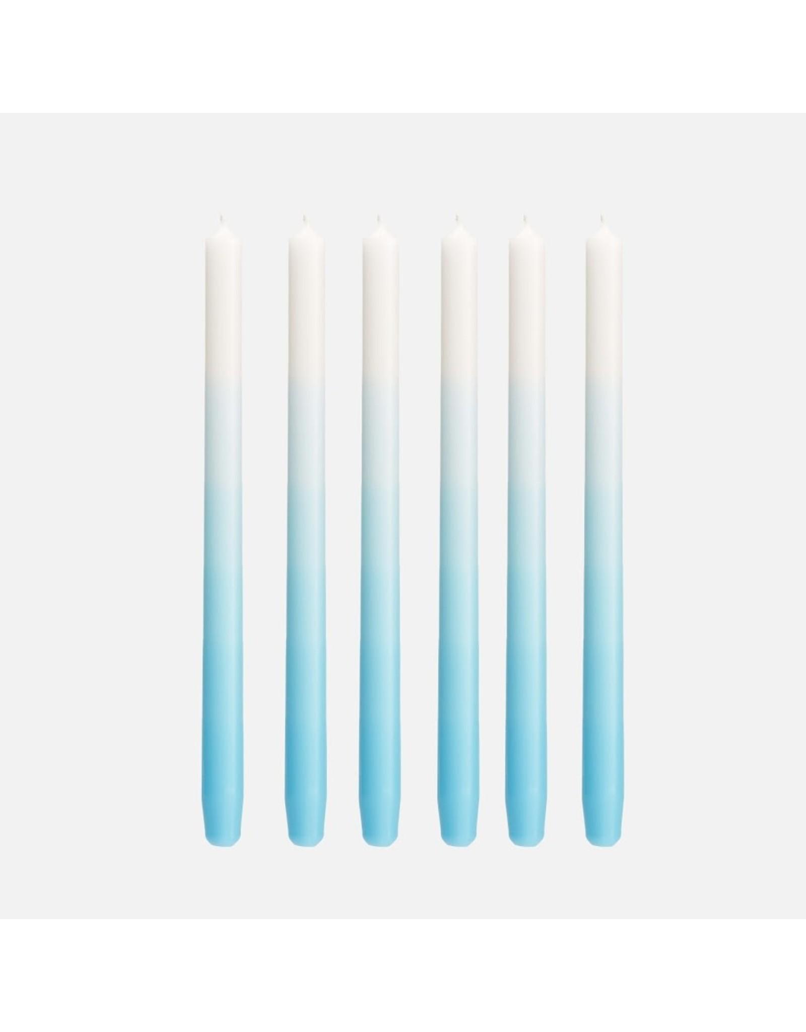 Mo Man Tai Gradient Candle (per piece) Horizon Blue