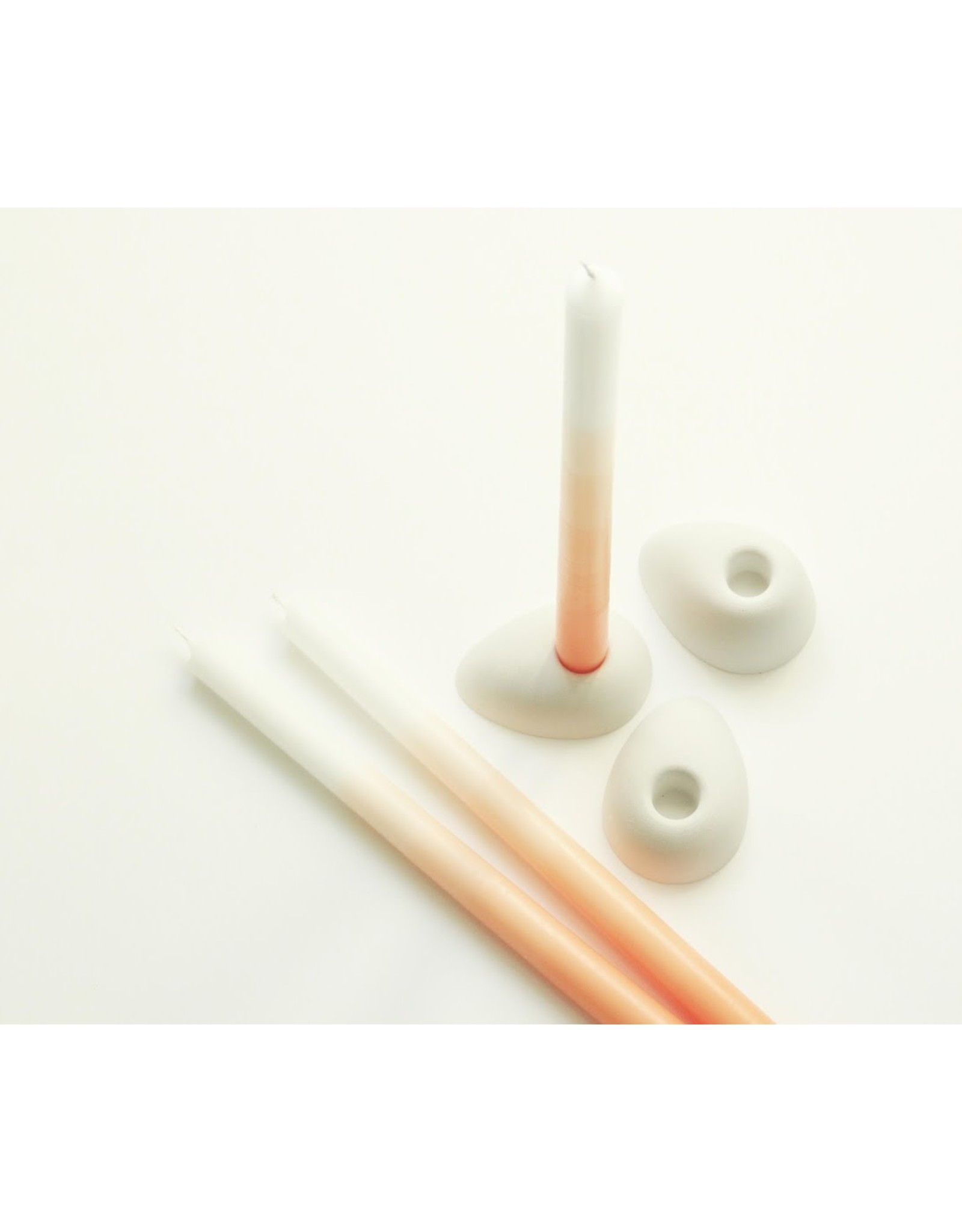 Mo Man Tai Gradient Candle (per piece) Dutch Orange