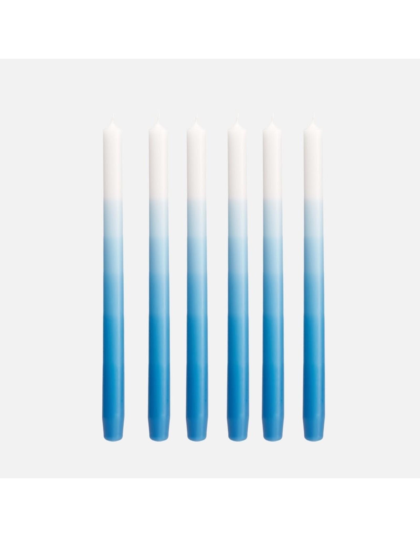 Mo Man Tai Gradient Candle (per piece)  Denim Blue