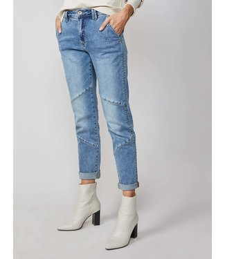 Summum Woman 4S1992-5054  TAPERED JEANS RAIN DENIM BERYL WASH