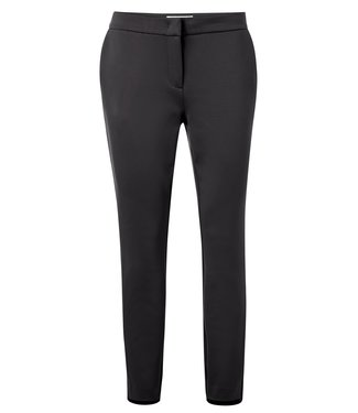 YAYA 121949  JERSEY STRAIGHT TROUSERS WITH ZIPPERS AT ANKLES