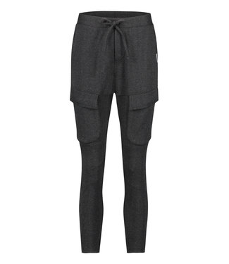 PENN&INK W20N791  TROUSERS BLACK