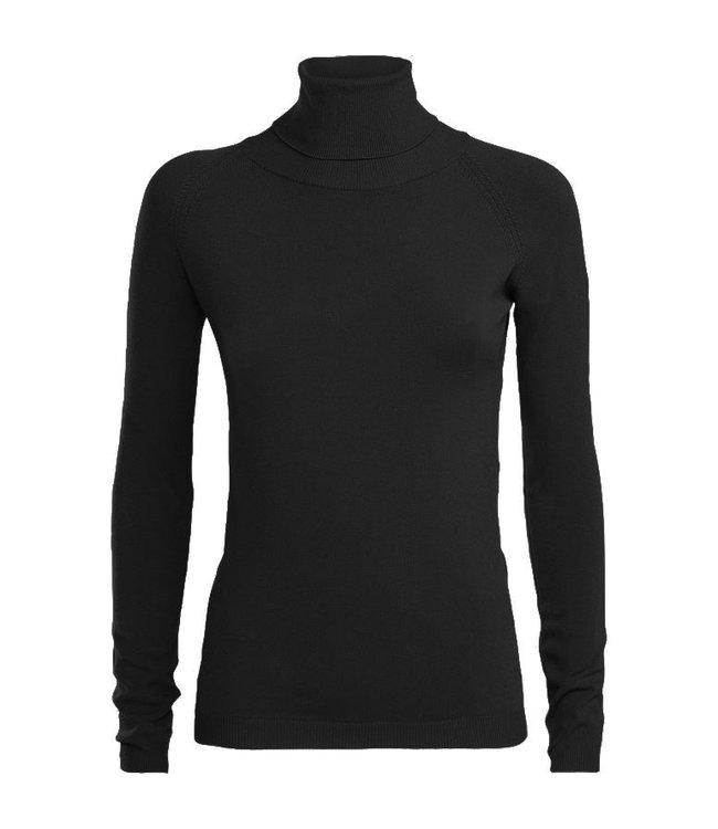 Summum Woman 7S5529-7760  TURTLE NECK BASIC BLACK