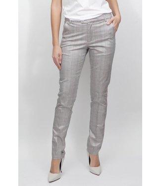 Bianco jeans 220164  EVA CHINO BROEK ZILVER PRINT