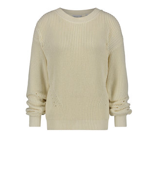 PENN&INK W20B092  PULLOVER OFF WHITE
