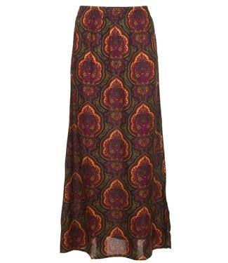 Les Favorites 4552147  COCO PAISLY LONG SKIRT