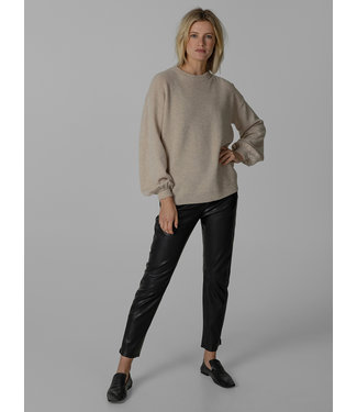 KNIT-TED essentials 202P31  ROMEE PULLOVER SAND