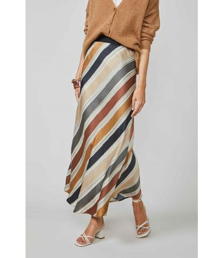 Summum Woman 6s1196-11359 Skirt printed stripe Multicolour