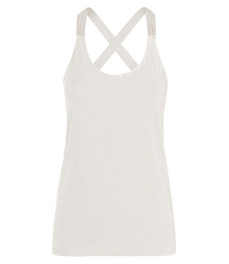 Summum Woman 3s4483-30212-ivory  Singlet crossbandf basics