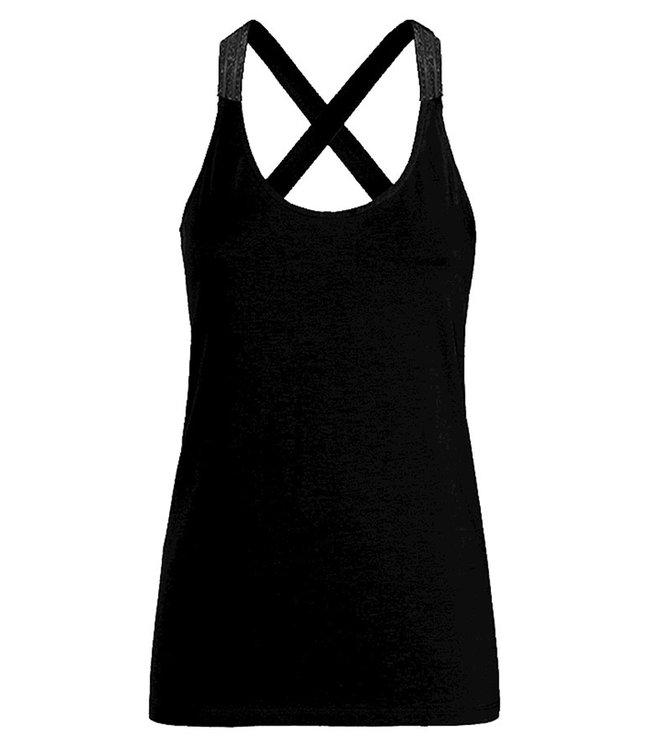 Summum Woman 3s4483-30212-black  Singlet crossbandf basics