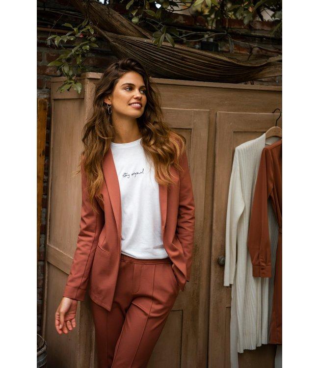 YAYA 150972-111  Jersey tailored blazer