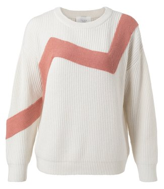YAYA 1000389-111  Zig zag sweater