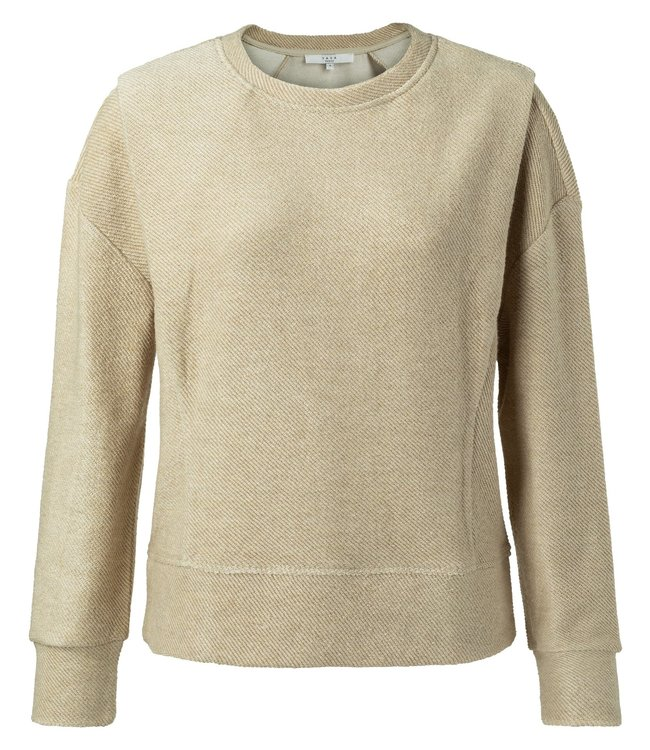 YAYA 1009403-111  Sweater with shoulder pleat