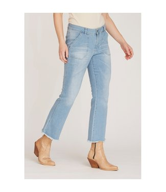 I Say 56347-LightBlueWash  Como flare jeans