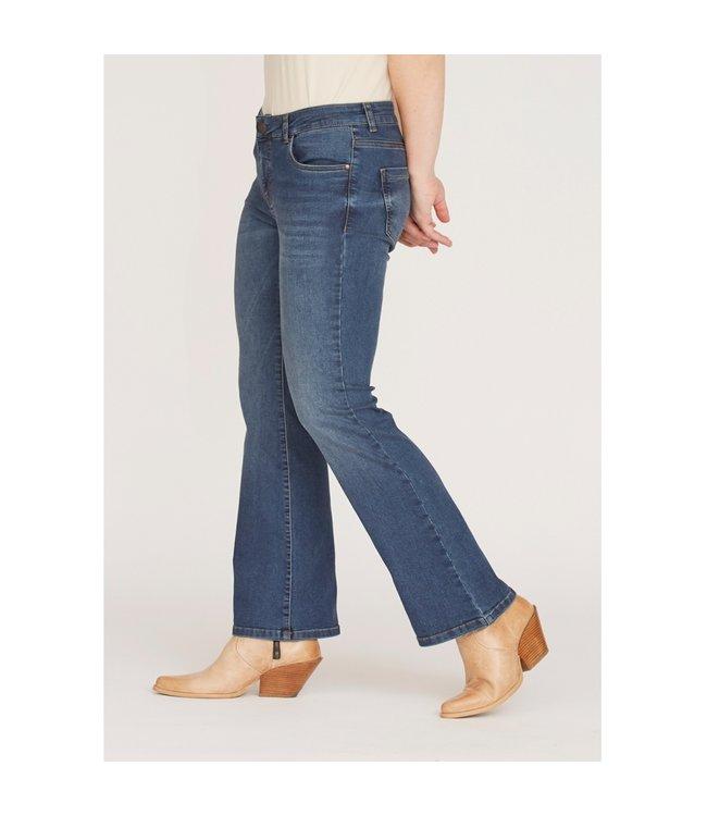 I Say 56617-LightBlueDenim  Lido flare jeans