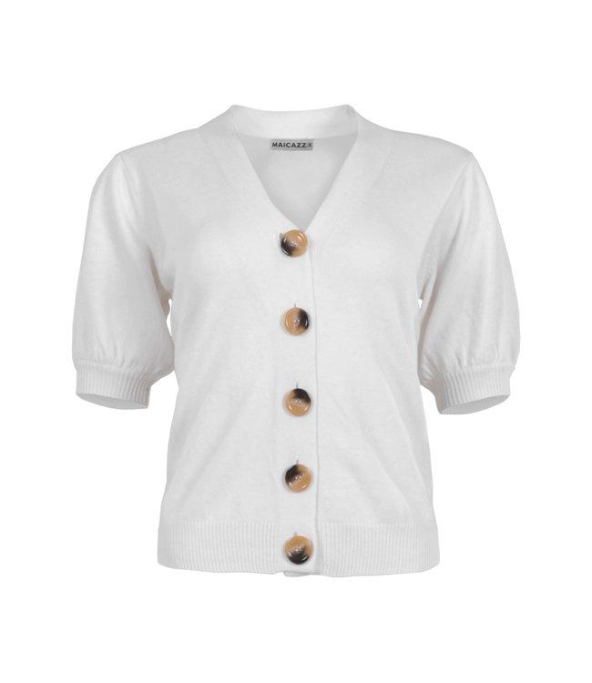 MAICAZZ SP21.65.003-Offwhite  SUUS vest