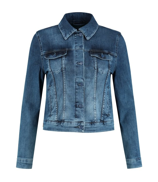 Para Mi SS211.022160 Mae Jacket  P-form Denim Cloudy Blue