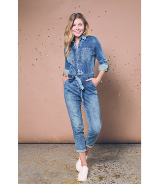 Para Mi SS211.022163 Jessy Jumpsuit P-form Denim Cloudy Blue