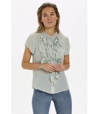 Saint Tropez 30510263 LillySZ SS Shirt Dessert Sage