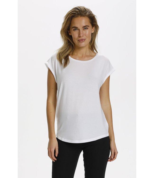 Saint Tropez 30501441 U1520, AdelinaSZ T-Shirt Bright White