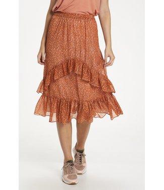 Saint Tropez 30510832 XelinaSZ Skirt Red Orange Puff