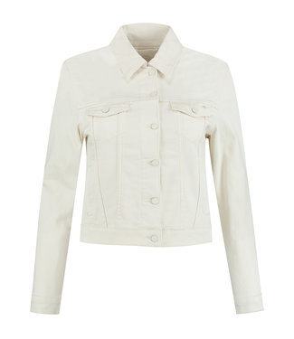 Para Mi SS211.005160 Mae Jacket Color Denim Off White