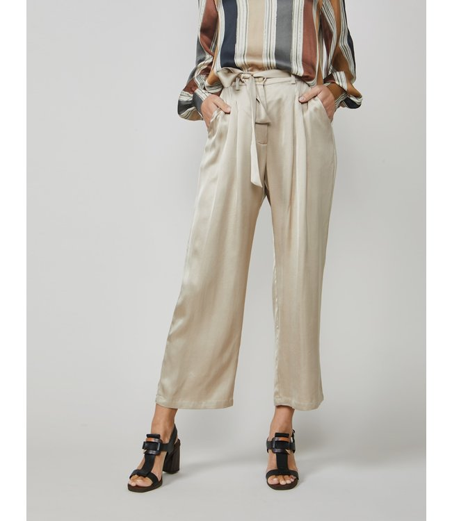 Summum Woman 4s2139-11274 Trousers silky viscose satin Alpaca