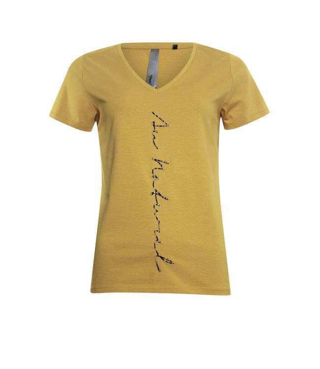 Poools 113204 T-shirt Au naturel Inca gold