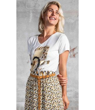 Poools 113213 T-shirt artwork Ivory