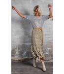 Poools 113214 Skirt print mix Camo dots